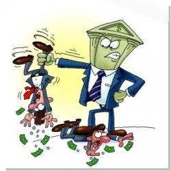 Клиентская задолженность в банках увеличилось более чем на треть в 2013 году